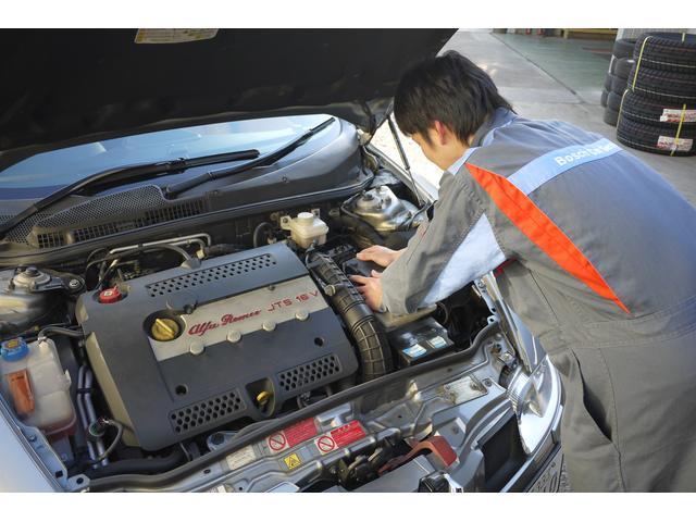 自社工場にて経験豊富なメカニックが最新鋭機器を使用し、点検整備致します!期待に答える山崎自動車!