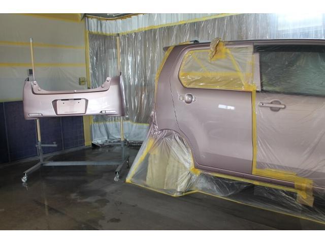 板金塗装もお任せ下さい。保険対応可能です。