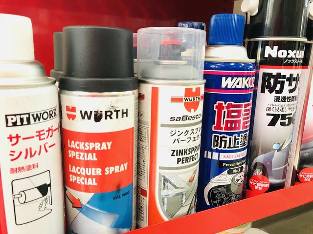 各種塗料を使い分けて作業いたします。
