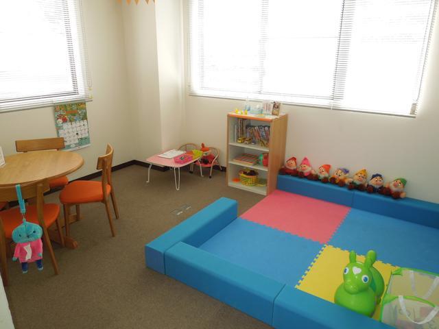 キッズルーム完備!小さなお子様もきっと楽しくお過ごし頂けます!