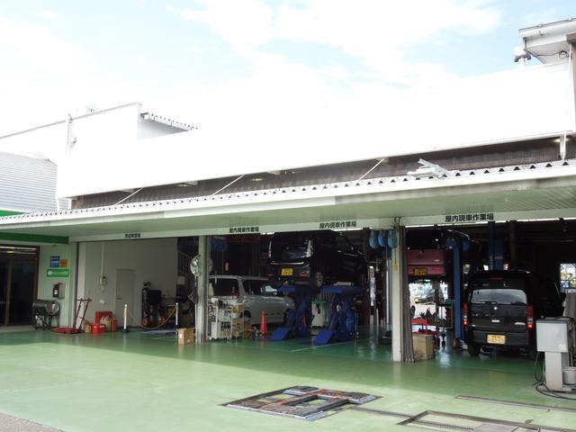 指定工場を併設しております。納車整備は勿論、購入後のアフターサービスもお任せ下さい!