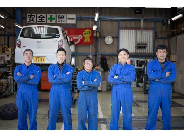 熟練の整備士がお客様のお車をお預かりします。私たちにお任せください!