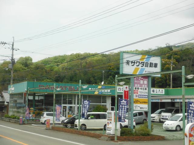 サワダ自動車とカーコン車検の2店舗で元気に営業しています。