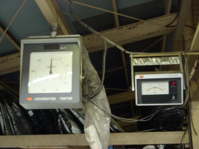 当店ではテスターも完備しており、勿論車検も可能な整備工場です。