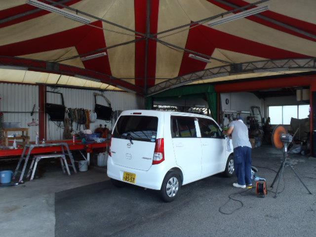 中古車・各種新車の販売はもちろん、車検・整備、板金塗装等のアフターサービスもお任せください!