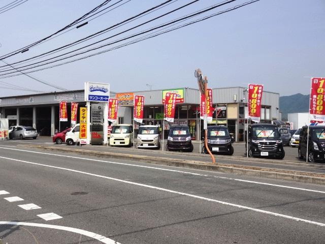 新車が月々1万円から乗れるコミコミ定額プラン対象車をたくさん展示しております。