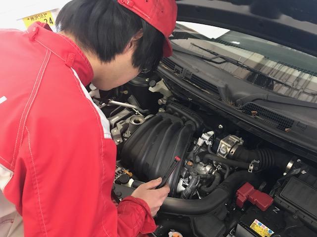 国家資格を持っている整備士がお車を診断致します。