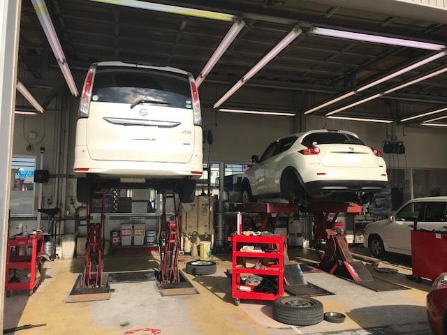 日産車だけではなく、他国産メーカーについても対応可能です。