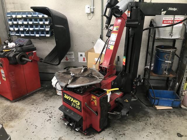 タイヤの対応お任せください!保管サービスもあります。