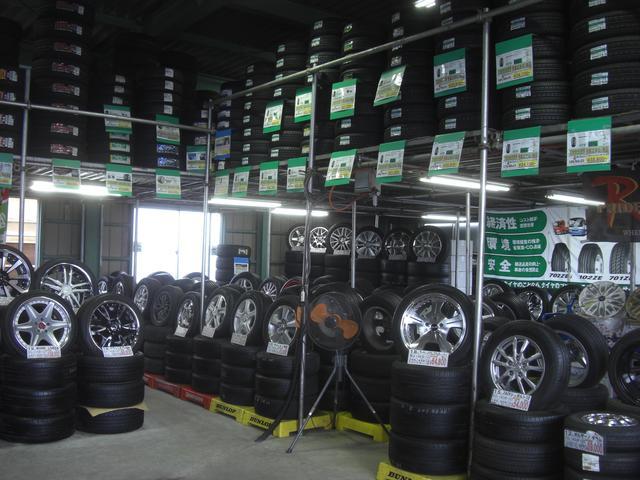 新品タイヤ&中古品も豊富に在庫 全タイヤメーカー取扱店