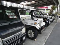 4WD車を中心に乗用車、スポーツカーなども取り揃えております。