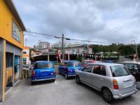 駐車スペースもあります、お気軽におクルマでお越し下さい、愛車買取もお問合せ下さい。