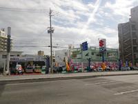 アップル沖縄宜野湾店。58号線北谷から那覇むけ大謝名交差点すぎてすぐです。