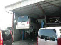 工場完備、車検・整備・板金・塗装、アフターも万全の体制です♪