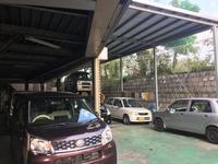 お客様の大切なお車をお預かりする整備工場です。