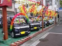 話題の軽自動車も様々!!お店は、うるま市役所近く、具志川Jパーク隣の車屋さん