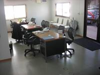 広々とした事務所も完備してます。