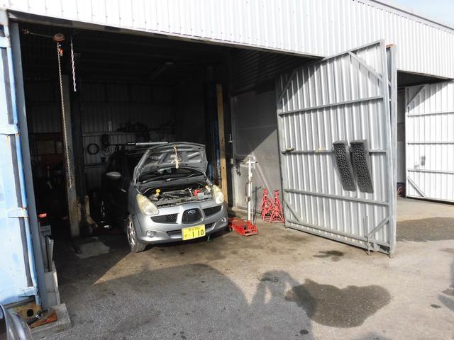 車検・修理・オイル交換等も行います。