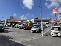 沖縄の中古車販売店 アップル 琉大前店