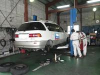 車検・整備点検の事もお任せ下さい!当社はてんけん君がマークの安心の指定工場完備してます♪