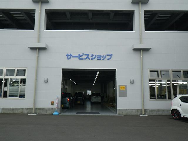 県内スズキディーラー最大級の工場完備!!安心と信頼は一つ一つ丁寧な作業から生まれます!!