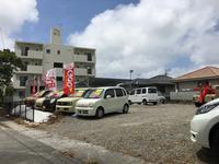 展示場は駐車場完備!中城村南上原の中城ファーム向いです!