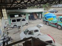大型車両の整備や防サビ塗装,溶接処理も対応します。