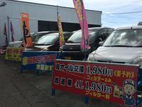 軽自動車・コンパクトカーを中心に取り扱っております!!お買い得車を是非見つけて下さい!!
