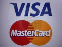 クレジットカード対応しております。VISA・mastercard(近日導入予定)