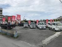 名護市の中古車販売店「北部建機」です!軽自動車から商用車、乗用車なんでも取り扱ってます