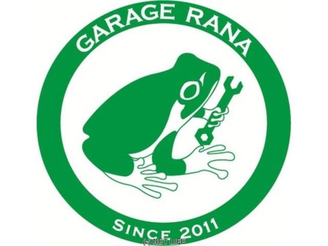 かくれ家的くるま屋さん「GARAGE RANA」です!お車のことなら何でもお任せ下さい!