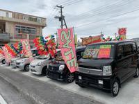 沖縄県中頭郡北中城村の中古車販売店のキャンペーン値引き情報ならm's Auto garage