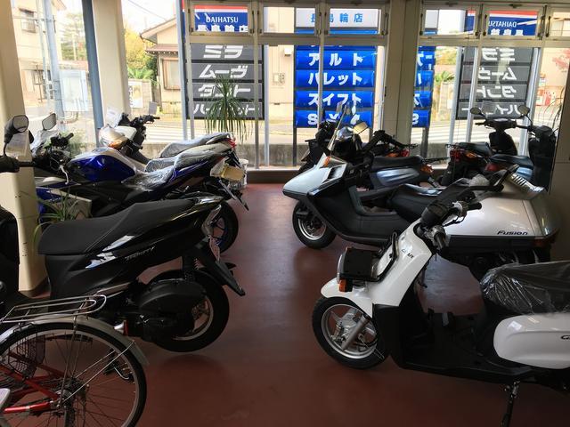 バイクの販売・整備などもお任せください!