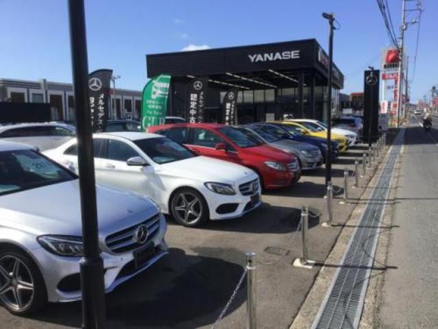 ヤナセの全国共有在庫よりお車をお取り寄せできます。