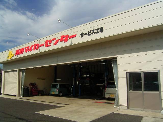 ★自社認証・整備工場も併設完備していますので、車検・整備・点検等も安心してお任せ下さい。