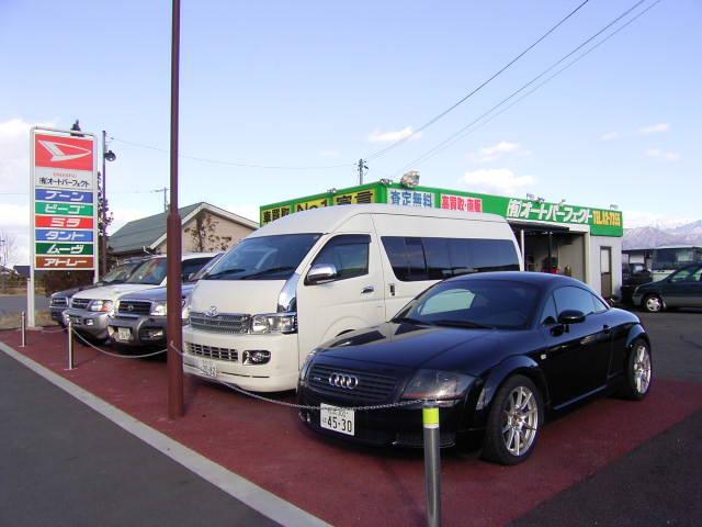 輸入車、SUVから軽自動車まで幅広い車種を扱っております。