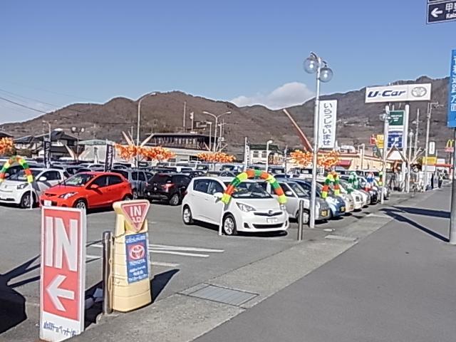 山梨トヨペット(株)U-Car和戸店
