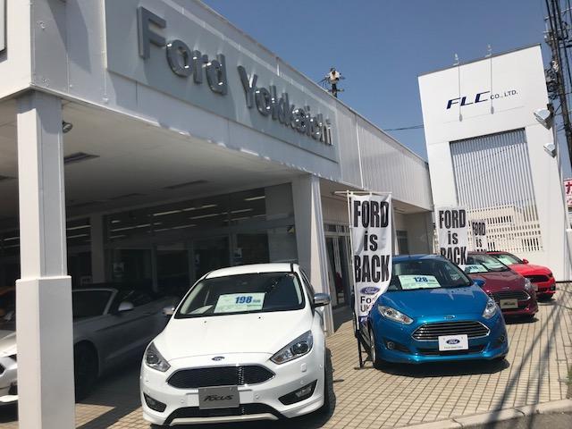 フォードの展示車をご用意しております。試乗車もご用意できますが事前にお問い合わせください。