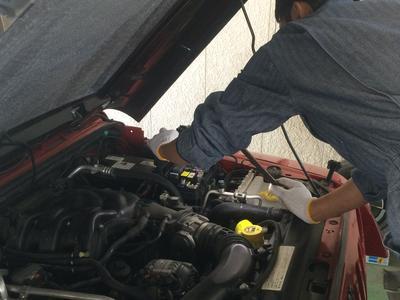 輸入車修理のためのお店です。