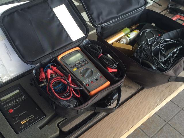 輸入車整備や修理に必要不可欠なコンピューター診断機も豊富に揃えています。