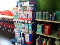 NUTEC正規販売店、YACCO、WAKO'S等オイル各種取り扱い。純正、社外パーツ各種取り扱い。
