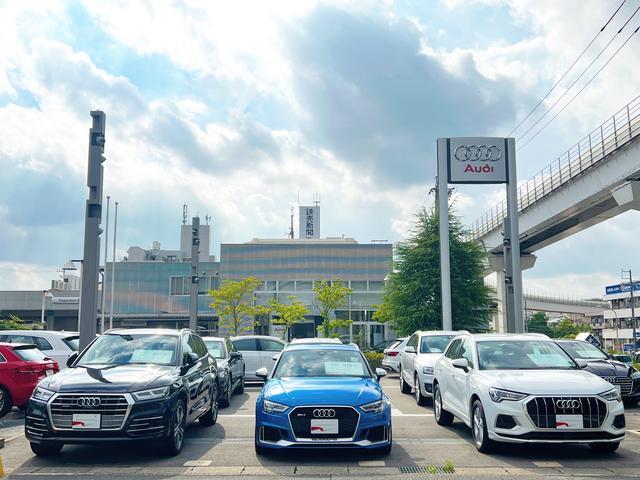 Audi名東認定中古車コーナー(1枚目)
