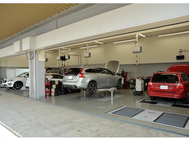 ボルボ最新整備設備を完備した工場を併設、ご購入後のメンテナンスもご安心してお任せ下さい。