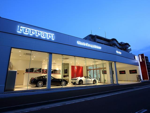 日本で唯一のフェラーリ 認定中古車ショールーム