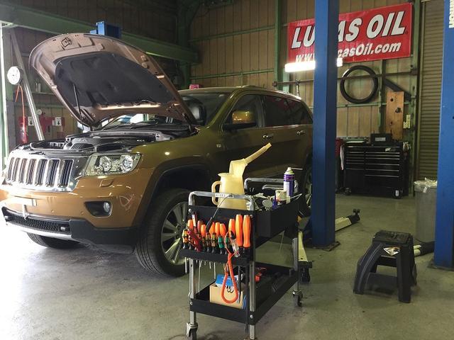 メンテナンスから、故障の対応、事故の修理など、様々対応させて頂きます。