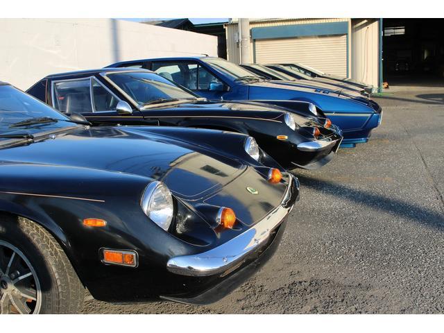 LOTUS、MG、TR、Morgan、ジネッタ、ケーターハム7など英国車の取扱いを最も得意としてます