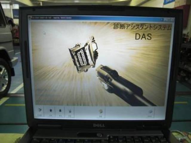 コンピューター診断機です!こちらはDASなのでベンツの診断ができます。