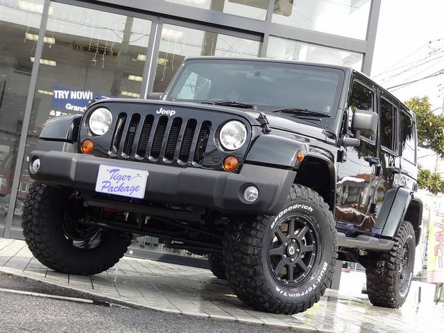 Jeepコンプリートカー「タイガーパッケージ」販売  新車・中古車 国産・輸入問わずご相談下さい