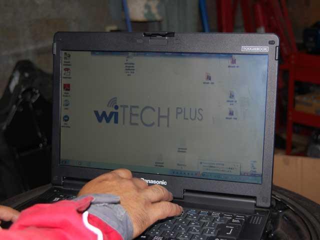 メーカー純正コンピュータ機を活用しての愛車のWiTECH無料健康診断などもご提供しております。