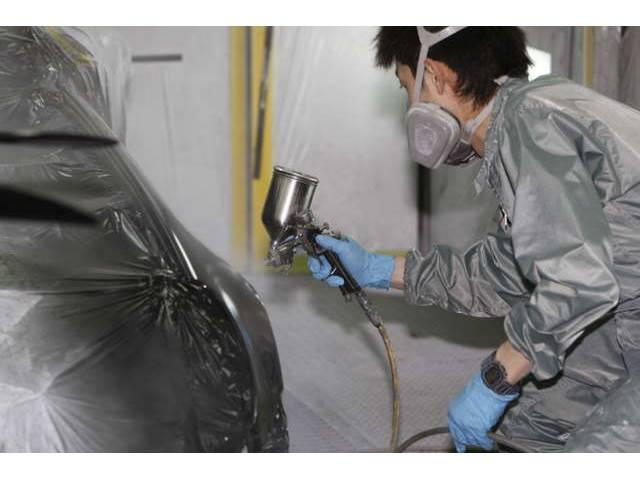 塗装ブースに関しましては、 Saico社製・BIGTOOL社製の2台体勢で準備しております。